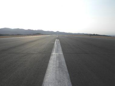 南紀白浜空港滑走路改良工事