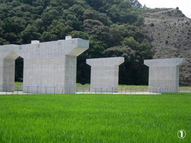 近畿自動車道紀勢線高瀬川橋P1橋脚工事