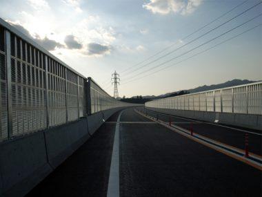 紀北東道路窪谷川仮橋設置他工事