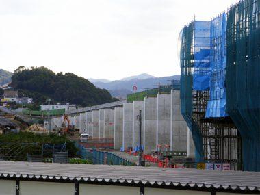 阪和自動車道吉備高架橋(下部工)工事