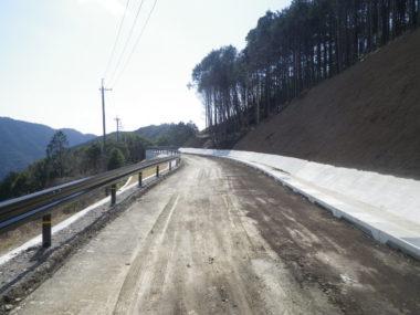 生石公園線道路改良工事